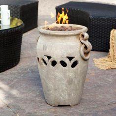 Aria Ceramic Propane Firebowl