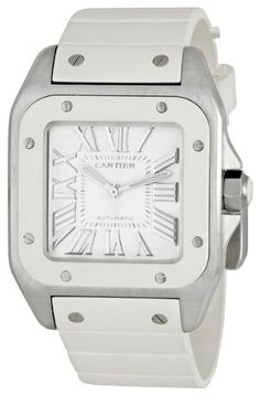 Cartier Women's W20122U2 Santos 100 Medium Watch $4,664.99
