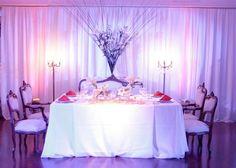 decoracion de copas para quinceneras | Decoracion de fiestas con telas y decoracion de fiestas con flores.
