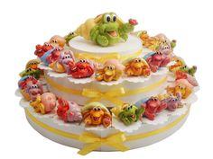 torta da 38 fette con paguro #tortabomboniera #paguro #ideabomboniera #primacomunione