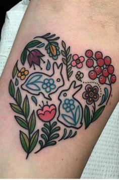 Interesting tattoos for girls traditional tattoo leaves, traditional tattoo rabbit, traditional flower tattoos, Tattoo Girls, Tattoo You, Girl Tattoos, Tatoos, Fox Tattoo, Pretty Tattoos, Sexy Tattoos, Beautiful Tattoos, Body Art Tattoos