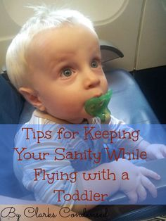 Tips for Flying With A Toddler, and not losing your sanity in the process