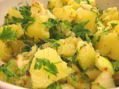 Cozinha Turca: Salada de Batata (Patates Salatası)                                                                                                                                                                                 Mais