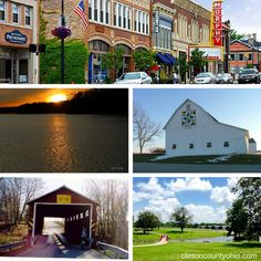 The weather is nicer - Looking to venture out this weekend? A few options: * Window shop on Main Street  * Experience a sunrise at Cowan Lake State Park  * Visit the only covered bridge to connect 2 counties  * Take the kids to play at the Parks  * Geocache 32 barn quilts or see all 54 Clinton County Bicentennial Barn Quilt Trail  More opportunities: http://clintoncountyohio.com/do ‪#‎visitclintoncounty‬ ‪#‎discoverohio‬ #barnquilts #mainstreet #kids #families #lakes #bridges