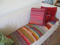 t shirt yarn blanket - Google Search