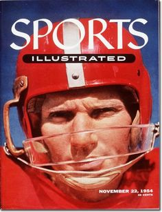 SI #NFL Cover Nov. 22, 1954. San Francisco #49ers Y.A. Tittle