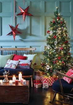 Christmas Decorating Theme: Scandi @Asda