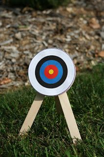 Arts and Crafts for your American Girl Doll: Archery Target for American Girl Doll