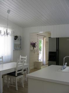 The White Farmhouse & Garden white kitchen kitchen renovation before & after