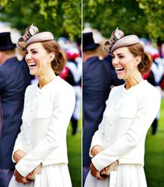 Middleton Love..Smiles and laughter like this cannot be faked!  I believe HRH and Prince William are truly happy, and they seem like NICE people.