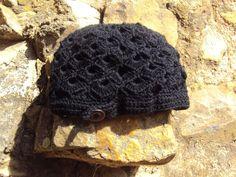 Gorro Blackshell. Ganchillo (crochet)
