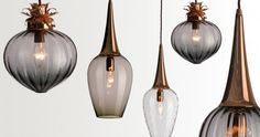 Lightining is one of the most important aspects of decorating and so often overlooked . Hand-blown pendant light is an easy option to ...