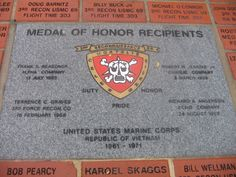 Medal of Honor Recipients 3rd Recon BN Vietnam