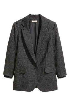 Wool-blend jacket