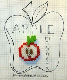 Apple perler beads