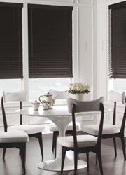 gray wood blinds - Google Search