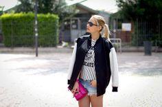 Tibi Jacket, Sheinside T Shirt