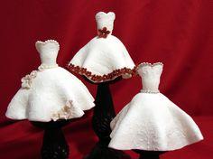 Wedding Dress Mini Cakes