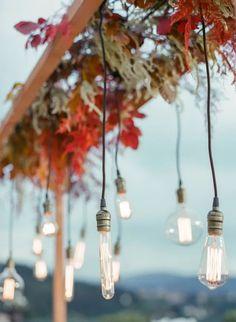 Rustic Vintage Bridal Inspiration in Tuscany Perfect for Fall Weddings – Antonis Prodromou – Villa Di Maiano 45 Tuscan Wedding, Autumn Wedding, Wedding Events, Wedding Day, Weddings, Fall Wedding Destinations, Desination Wedding, Autumn Lights, Wedding Lighting