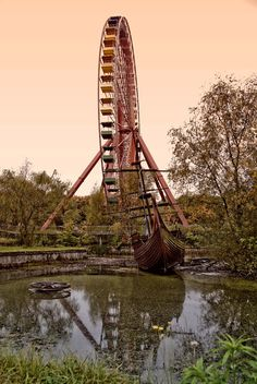 Abandoned amusement Park in Germany