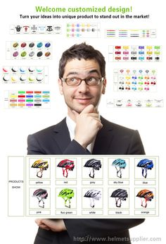 Helmet Accessories, Bicycle Helmet, Custom Design, Colorful, Key, Make It Yourself, Marketing, Website, Model