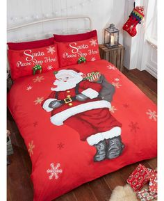 Christmas Duvet Cover Set Quilt Bedding Set With Pillow Cases Reversible. Super King : 260 x 220 Cm Approx 2 Pillow Cases. King : 230 x 220 Cm Approx 2 Pillow Cases. Single : 137 x 200 Cm Approx 1 Pillow Case. Boho Duvet Cover, Red Duvet Cover, Double Duvet Covers, Single Duvet Cover, Duvet Cover Sizes, Quilt Cover Sets, Pillow Covers, Blanket Cover, King Comforter Sets