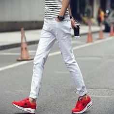 Summer White Jeans