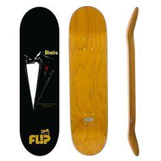 4a11aa5441 Shape Flip Skateboards Maple Oliveira Grow Great 7,88 Preto