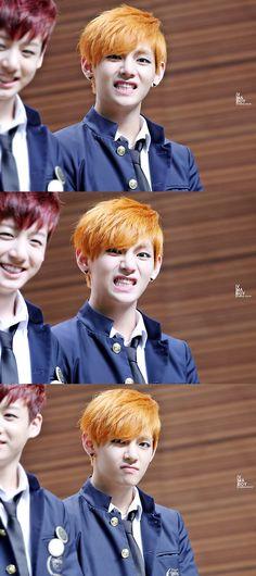 Expressões do senhor Taehyung ♡