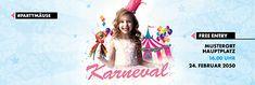 Bald ist Fasching! Bewerben Sie Ihre Veranstaltung mit Werbebanner von onlineprintXXL. #fasching #karneval #princess #party #vorlagen #werbebanner #werbeplane Planer, Advertising, Party, Promotional Banners, Carnavals, Templates, Creative, Parties