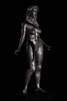 Figurative limited edition bronze sculptures with a contemporary feel, suited to the corporate or private collector for either indoors or out. Bronze Sculpture, Sculptures, Nude, Statue, Contemporary, Female, Beauty, Art, Beleza