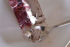 ciasto nutella -śmietana - galaretka