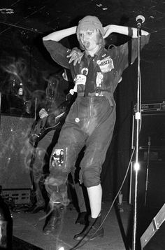 Wayne County -- now known as Jayne County -- was a huge part of the NYC Punk Scene in 1977.