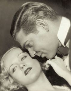 Carole Lombard (It's her birthday today) & Clark Gable by de sata1, via Flickr