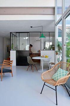 Pinterest : 25 intérieurs qui donnent envie d'avoir une verrière   Glamour