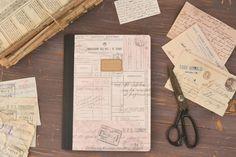 Kraft Notebook, vintage paper