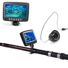 "Eyoyo 4.3"" 15M Color Monitor Underwater Camera Ice/Sea/Boat Fishing Fish Finder #Eyoyo"