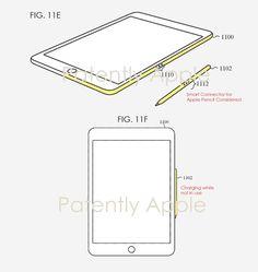 Le brevet du jour : un nouveau système d'attache & recharge pour Apple Pencil