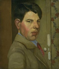 Gilbert Spencer (1892-1979) – Self-Portrait (1928) Tate Museum, London