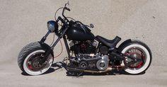 The Mule. My hand built, one off, custom, fat tire, shovelhead, motorcycle, chopper...