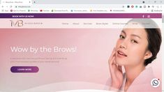 Beauty website Brow Embroidery, What Is Microblading, Eyebrow Beauty, Semi Permanent Makeup, Just Go, Service Design, Website