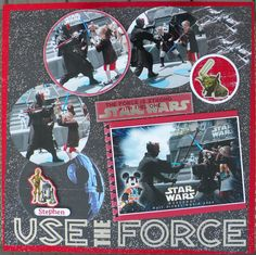 Use the Force - Scrapbook.com