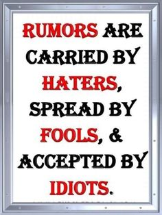 So True Words of Wisdom