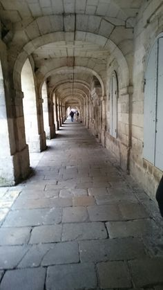 Ancient cloistered streets