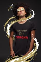 Add a bit flavor with this MyMyMyMy Corona urban culture tee. A play on the hit 1979 song My Sharona by The Knack music group. #tee #tshirt #mysharona #urbanculture #urbanclothing #graphictee #music #1979 #hitgroup #streetart #streetfashion #hiphop