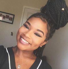 Beautiful @_summerella_ - http://community.blackhairinformation.com/hairstyle-gallery/braids-twists/beautiful-_summerella_-2/