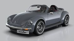 The Memminger Roadster is a Modern Custom Volkswagen Beetle Auto Volkswagen, Vw T1, Vw Classic, American Classic Cars, Porsche 914, Carros Vintage, Vw Cabrio, Beetle Convertible, Auto Motor Sport