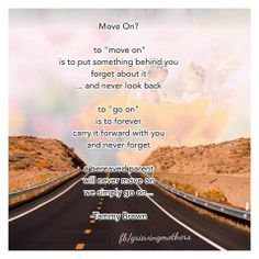 """We will never """"move on"""""""