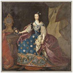 Category:Maria I of Portugal Old Portraits, Portrait Art, Dom Pedro 2, Portuguese Royal Family, History Of Portugal, Rococo Fashion, 18th Century Costume, Court Dresses, 18th Century Fashion
