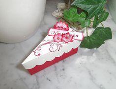 Stampin Up ! Geschenketorte 2 Creme/Rot | eBay